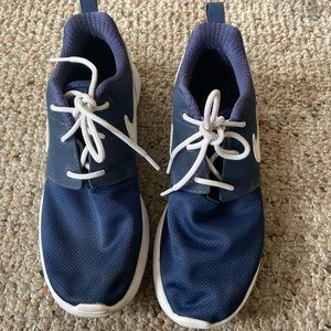 Navy blue NIKES